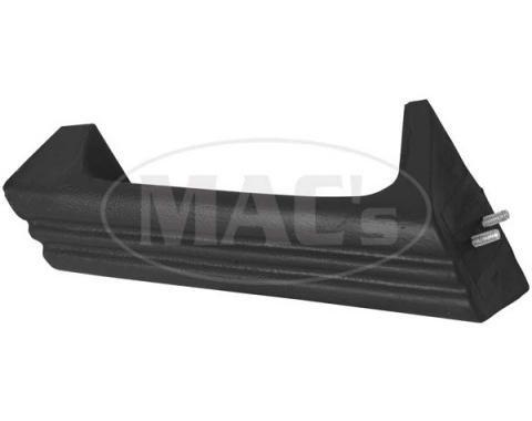 Ford Mustang Door Pull - Black - Left - For Deluxe Door Panels