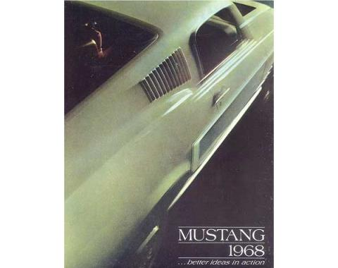 Mustang Color Sales Brochure - 16 Pages - 58 Illustrations