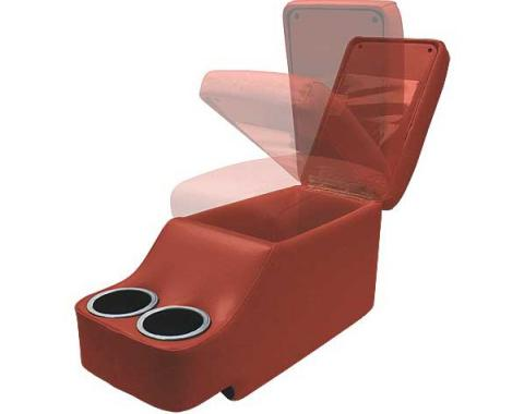 Ford Mustang Humphugger Console - Coupe & Fastback - Red