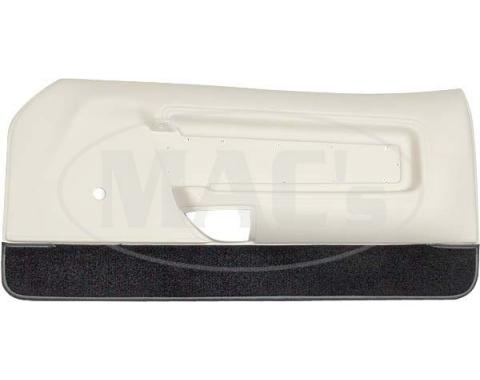 Ford Mustang Door Trim Panels - White - Deluxe Interior