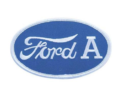 Cloth Patch - Oval Ford A Emblem