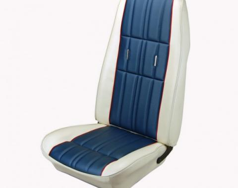 Cpe, Conv, Sptrf, Front,W/Bkt Seats, Grnd Cloth Uph  B/B/Twd 1971-73
