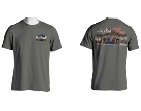 Laid Back Garage, T-Shirt, Ford Dream Garage T-Shirt