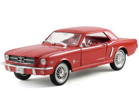 Mustang Model, Red Hardtop, 1:32 Scale, 1964 1/2