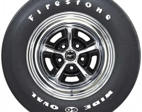 Tire - F60 x 15 - Raised White Letters - Firestone Wide Oval