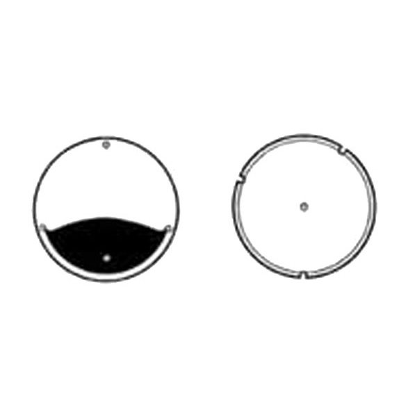 Ford Mustang Rally-pac Tachometer Lens
