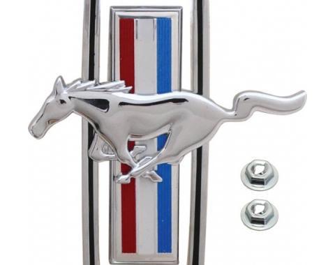 Daniel Carpenter Ford Mustang Grille Ornament - Pony Emblem D0ZZ-8213