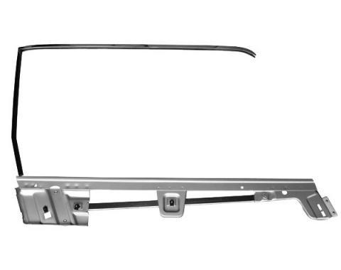 Door Glass Frame Kit / Right / Hardtop