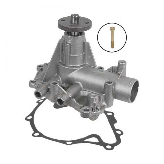 Ford Mustang Water Pump - Remanufactured - Aluminum Housing- Exposed Impeller - 260 Or 289 V-8