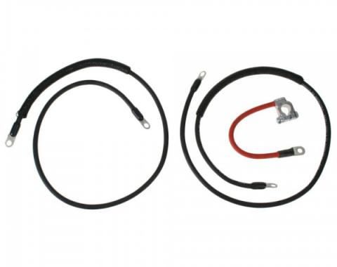 Heavy-Duty Battery Cable Set - Exact Reproduction