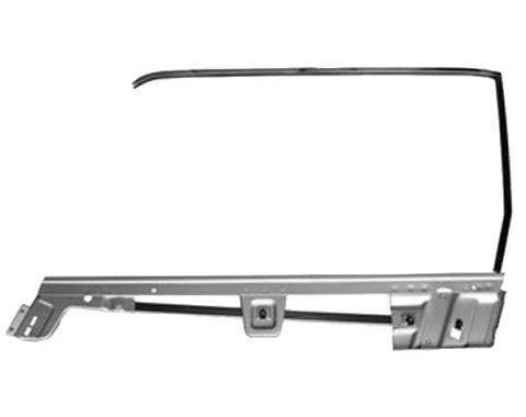 Door Glass Frame Kit / Left / Hardtop