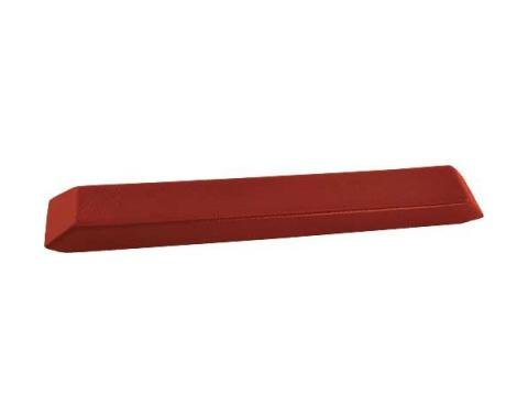 Ford Mustang Arm Rest Pad - Red - Left Or Right - Standard Interior