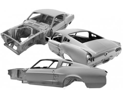 Ford Mustang Full Body Shell, Fastback, 1967