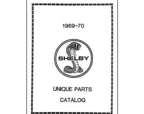 Ford Mustang Shelby Unique Parts Catalog - 32 Pages