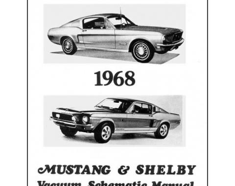 Mustang Shelby Vacuum Schematic Manual - 12 Pages