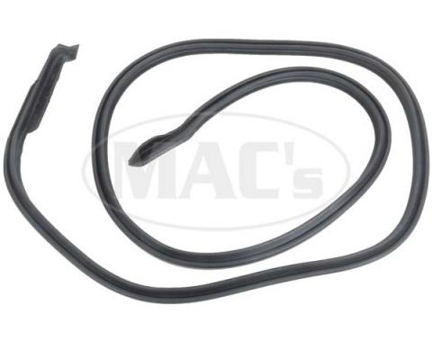 Ford Weatherstrip Door Seal,Passenger Side, 1967-1968