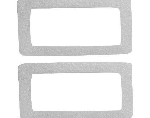 Ford Mustang Side Marker Light Gaskets - Rear