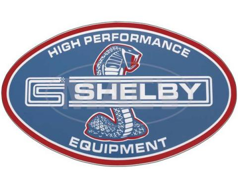 Decal - Shelby Performance Equipment - 10 Long X 6-3/8 HighOval