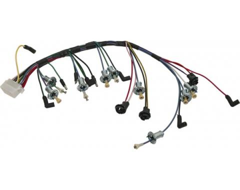 Ford Mustang Dash Wiring Harness - Cars With A Tachometer