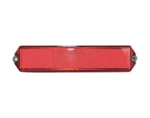 Ford Mustang Side Marker Light Reflector - Right Or Left - Before 2-10-1968