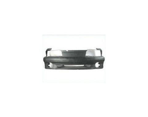 Mustang Front Bumper Cover W/Fog Lamp Hole, Cobra/GT 1987-93