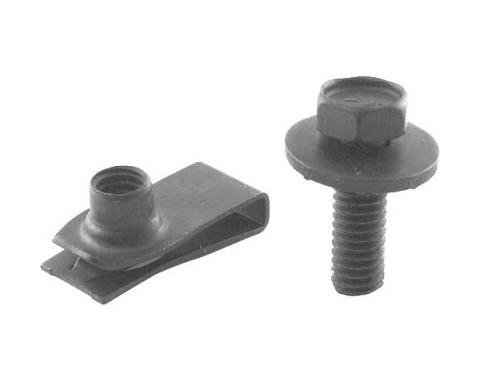 Ford Mustang Radiator Mounting Nut & Bolt Set
