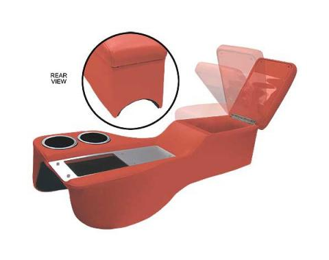 Ford Mustang Humphugger Cruiser Console - Coupe, Fastback &Convertible - Vermillion