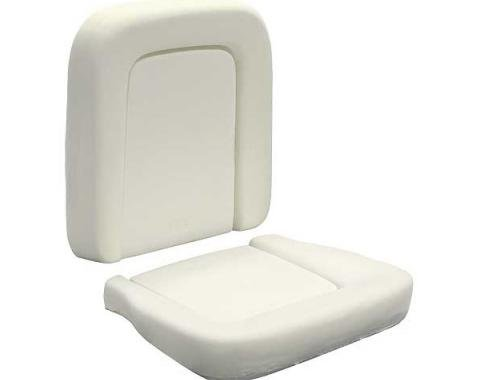 Ford Mustang Seat Foam - Pony Bucket Seat - Includes Seat Cushion & Seat Back