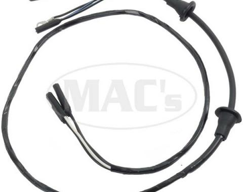 Ford Mustang Door Light & Speaker Wiring - For Cars With OrWithout Door Mounted Speakers
