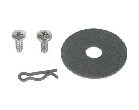 Ford Mustang Seat Side Shield Hardware Kit - 12 Pieces