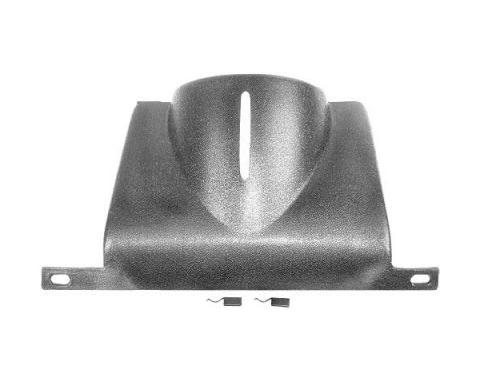 Ford Mustang Lower Steering Column Cover - Black Plastic