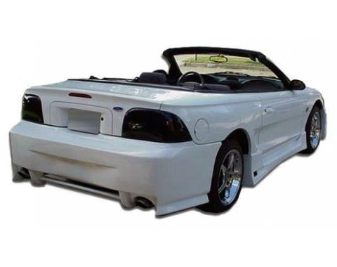 Ford Mustang Spy 2 Style 1 Pc Poly Rear Bumper 1994-98