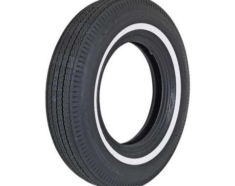 Tire - 695 x 14 - 7/8 Whitewall - BF Goodrich