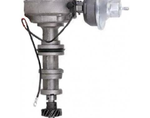 Distributor, Rebuilt, Dual Vacuum Points/Condenser Type, 390, 427, 428, 429 Engines