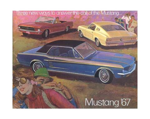 Mustang Color Sales Brochure - 16 Pages - 27 Illustrations