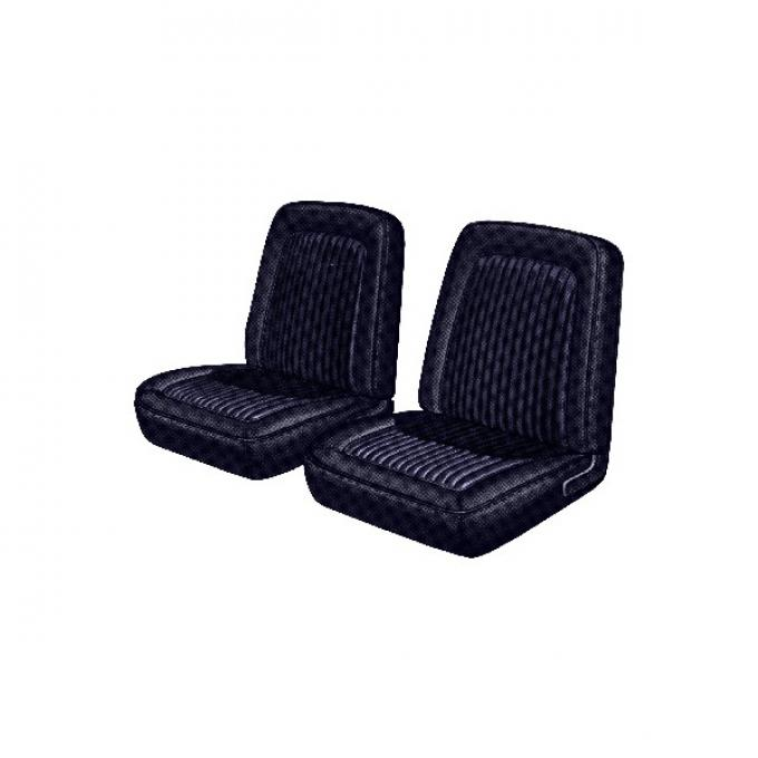 Distinctive Industries 1968 Mustang Standard 2+2 with Buckets Front & Rear Upholstery Set 068346