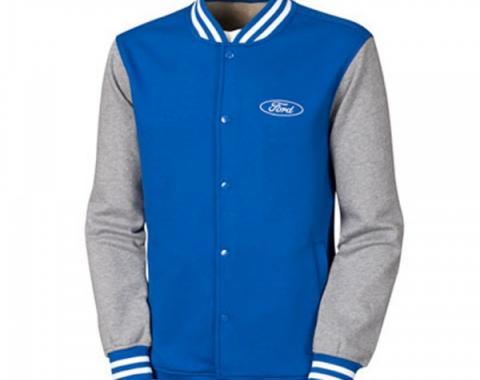Ford Fleece Letterman Jacket