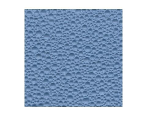 Ford Mustang Headliner - Crater Vinyl - Medium Blue #9 - Fastback