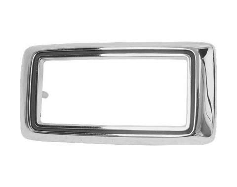 Side Marker Light Bezel - Chrome