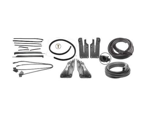 Ford Mustang Weatherstrip Kit - Convertible - Includes 8 Seals