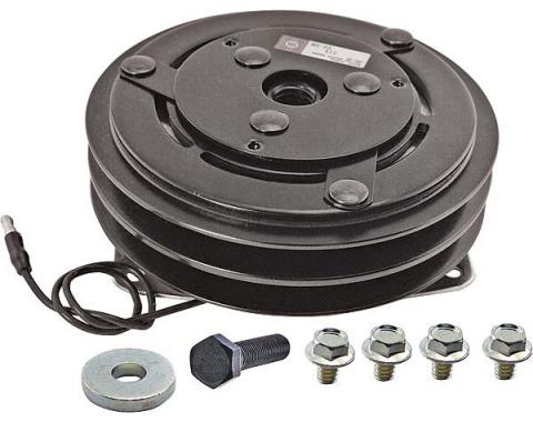 Air Conditioner Compressor Clutch - Remanufactured - 6 Diameter Double-Groove Pulley - 6 Cylinder - Falcon