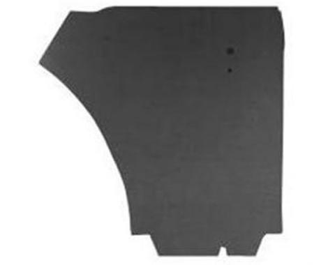 Ford Mustang Door Trim Panel Water Shields - 4 Pieces - Convertible