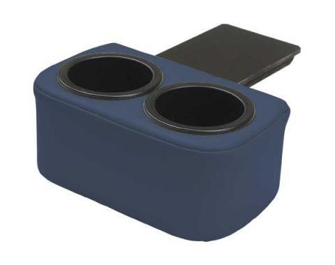 Ford Mustang Plug & Chug Drink Holder - Dark Blue