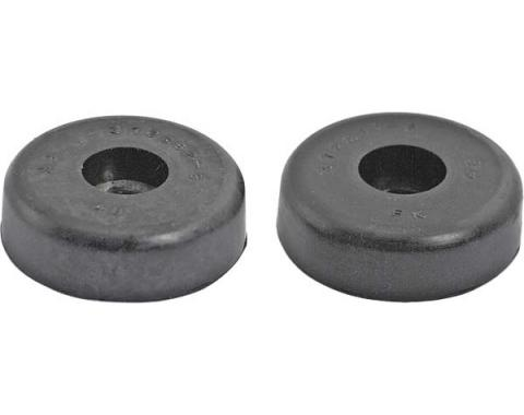 Daniel Carpenter Ford Mustang Fastback Rear Seat Stop Bumpers - Rubber - Early 1965 372262