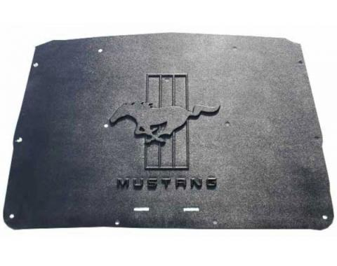 Mustang Hood Cover and Insulation Kit, AcoustiHOOD, 1964-1966