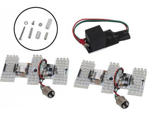 Mustang Sequential LED Tail Light Kit, 1964-1966