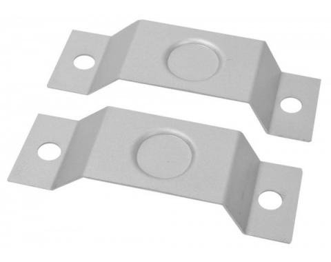 Mustang Convertible Quarter Trim Supports, 1965-1966