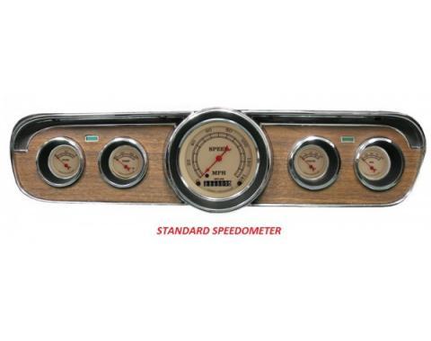 Mustang Classic Instruments® 5-Gauge Set, Vintage Series,1964-1966
