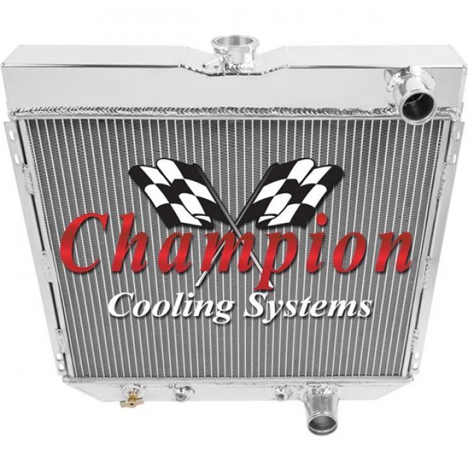 Ford Champion Aluminum Radiator, 4-Row
