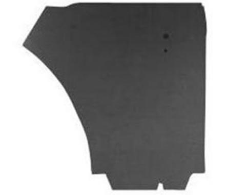 Door Trim Panel Water Shields - 4 Pieces - Convertible